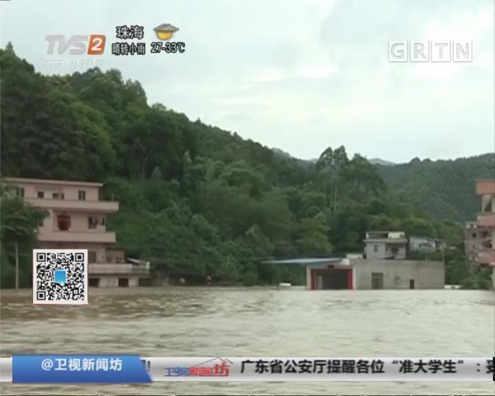 广东讯情:西江今年首个洪峰通过云浮肇庆