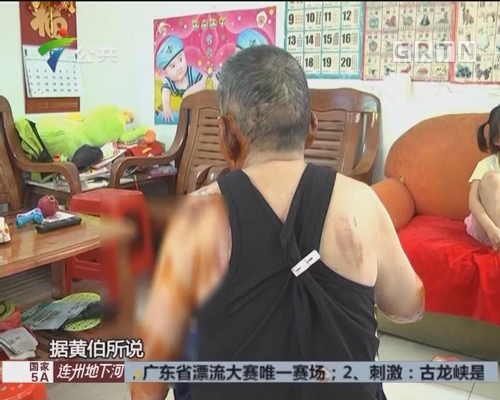 广州:氢气球飘到荔枝林 路人欲拾被炸伤
