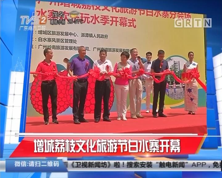 增城荔枝文化旅游节白水寨开幕