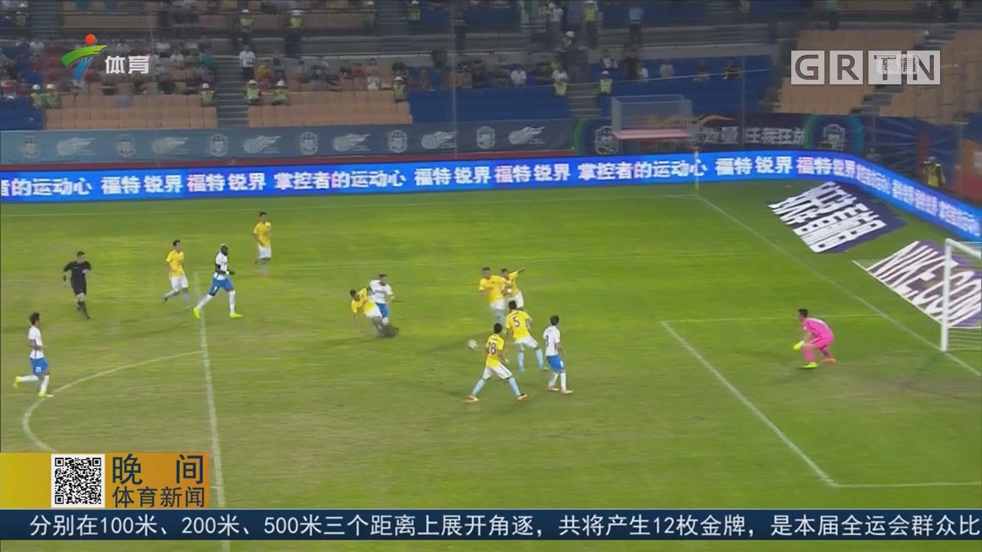 江苏苏宁客场战平天津亿利