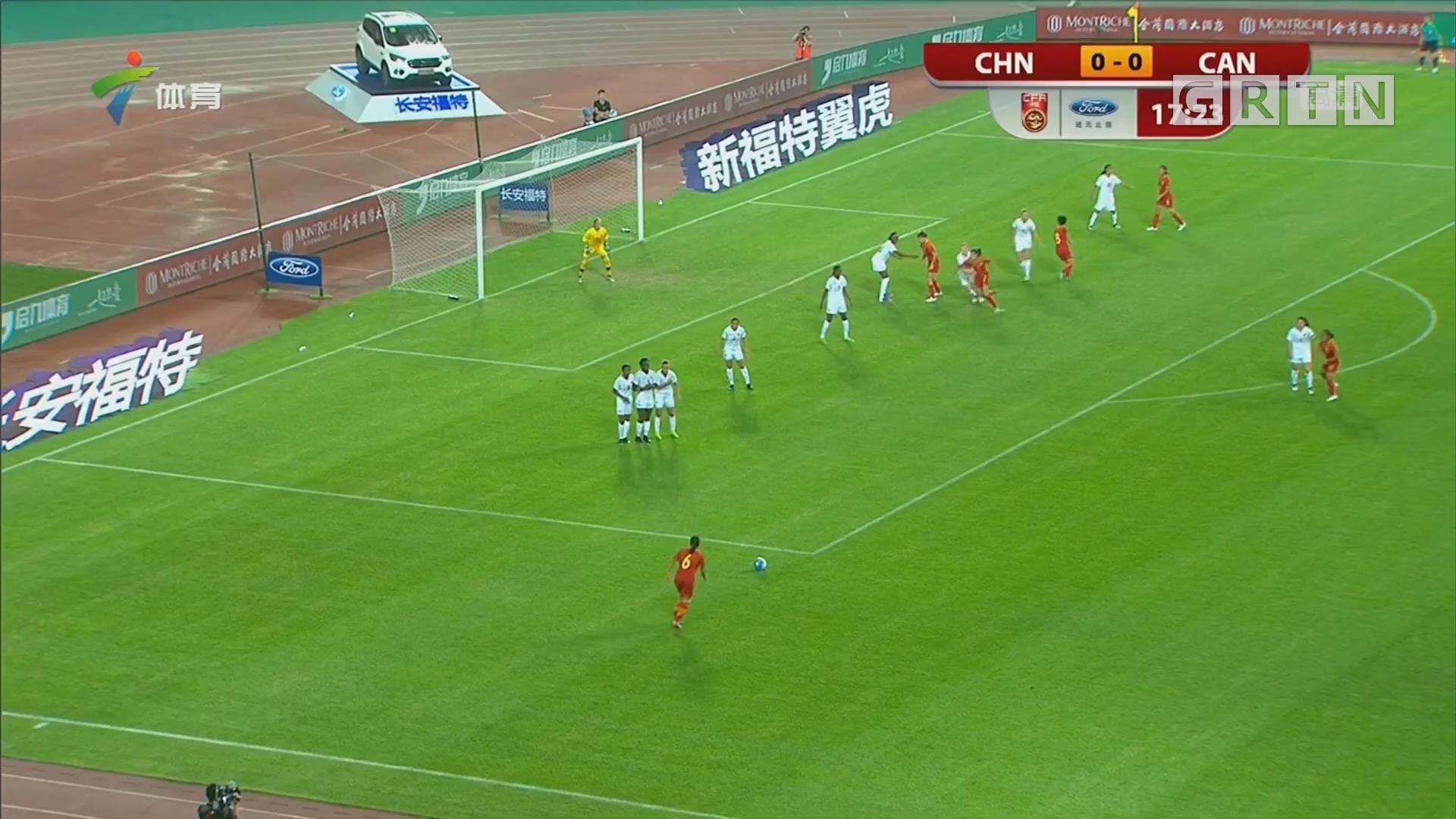 U16女足 中国力克加拿大 收获开门红