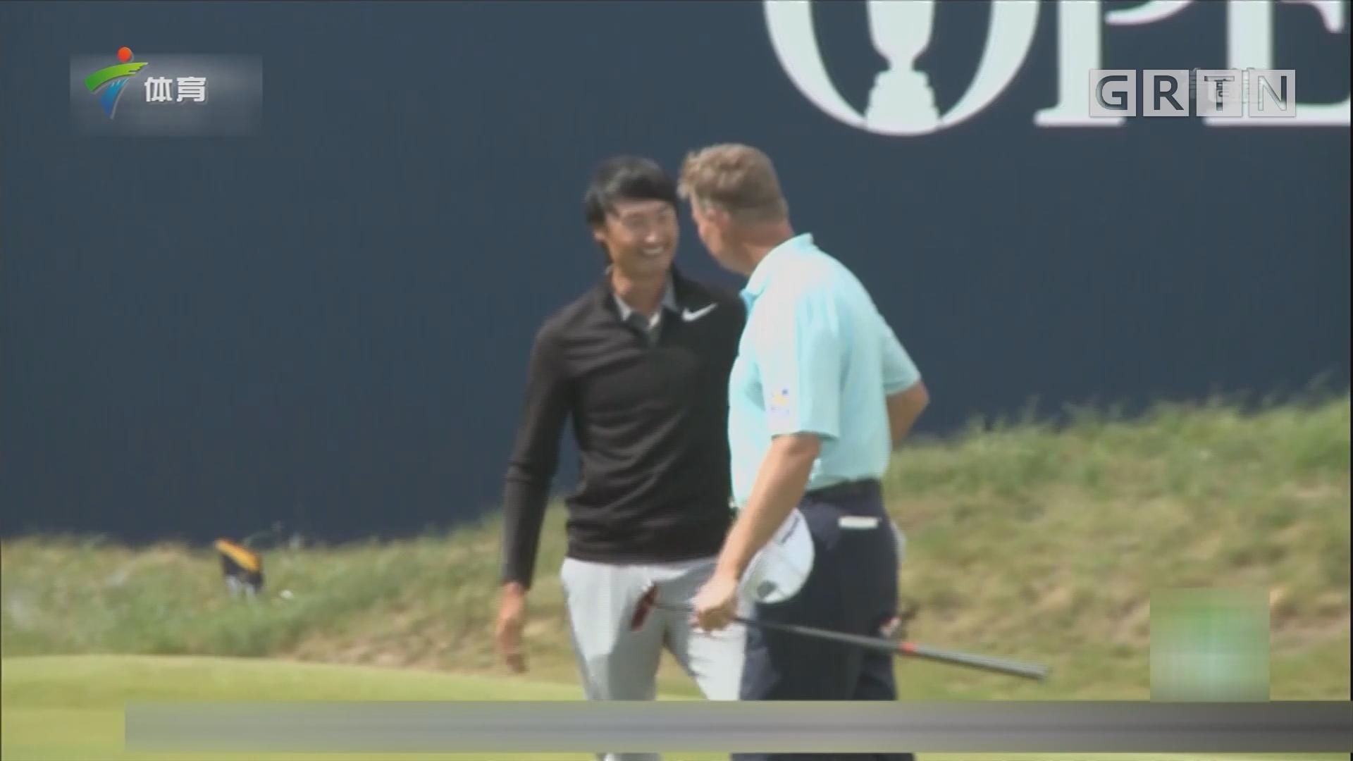 英国高尔夫公开赛 李昊桐创历史最佳