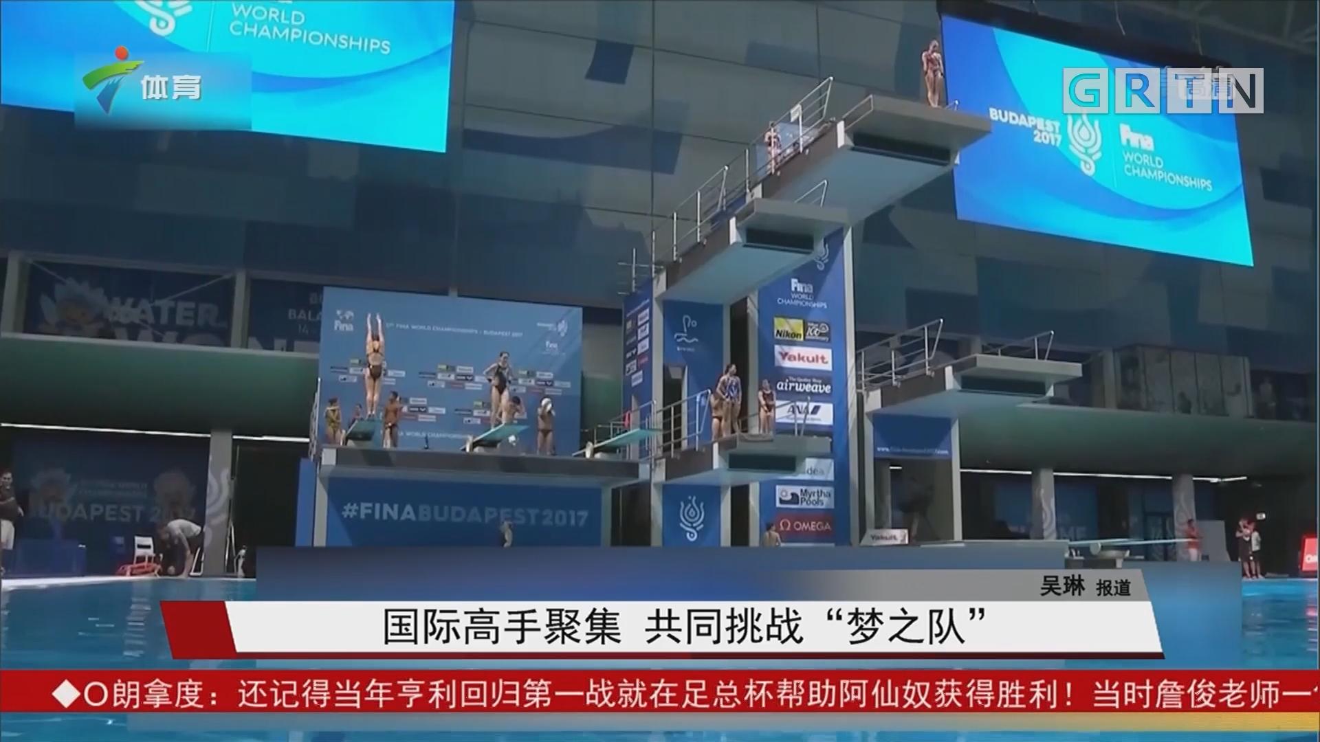 """国际高手聚集 共同挑战""""梦之队"""""""
