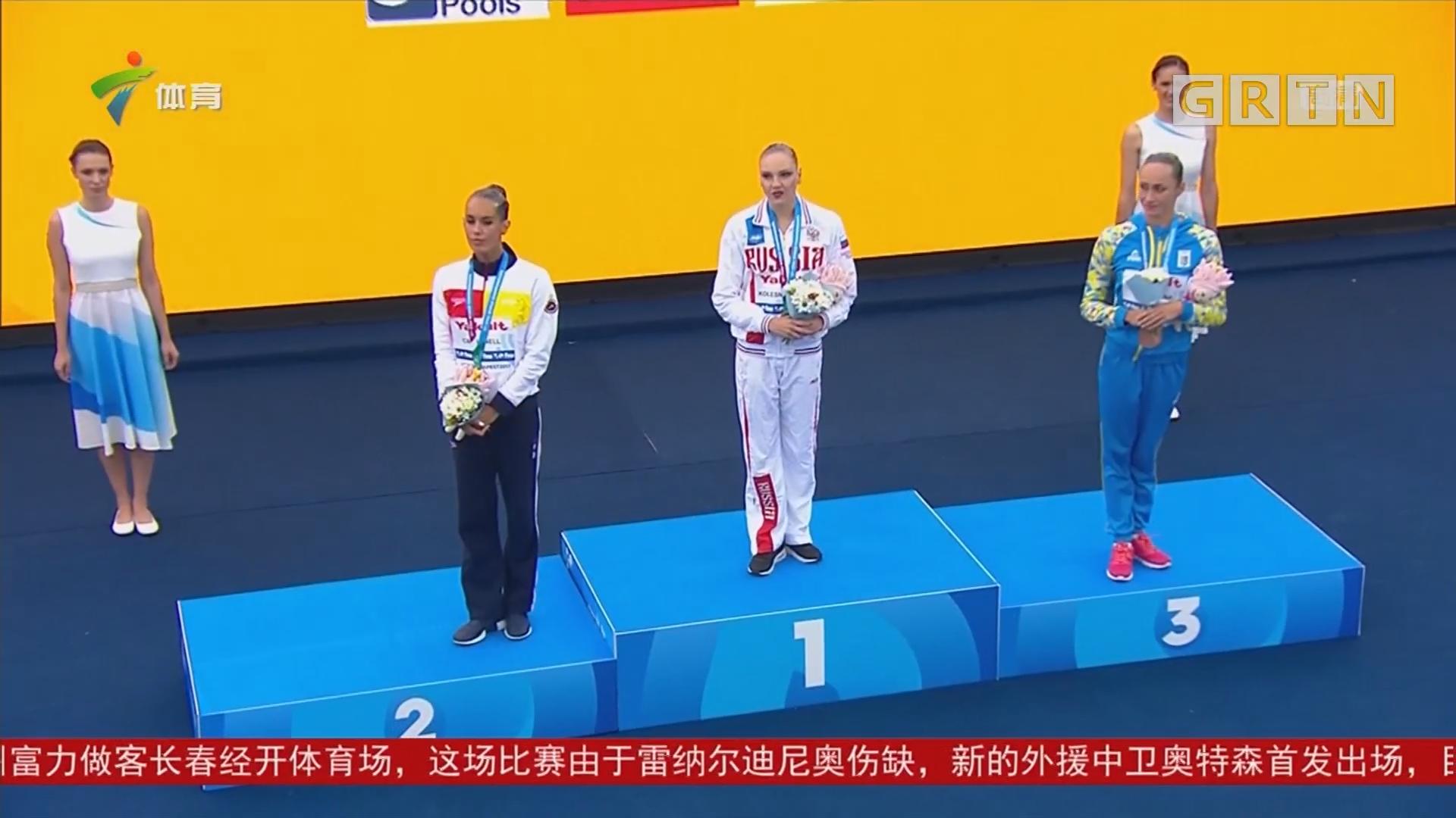 世界游泳锦标赛首日决出多项冠军