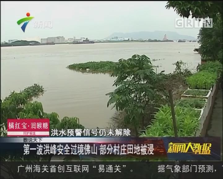 西江第一号洪峰过境肇庆 江口站最高超警水位4.4米