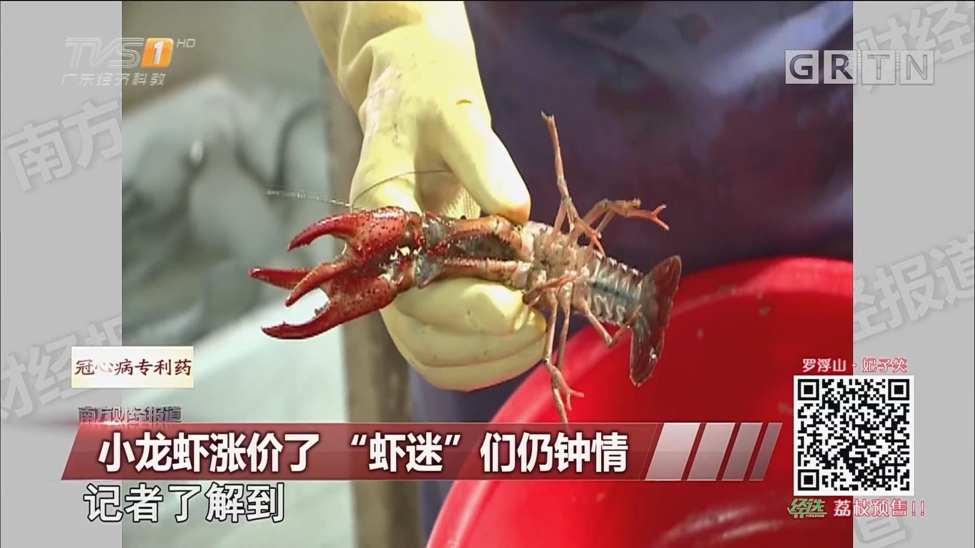"""小龙虾涨价了 """"虾迷""""们仍钟情"""
