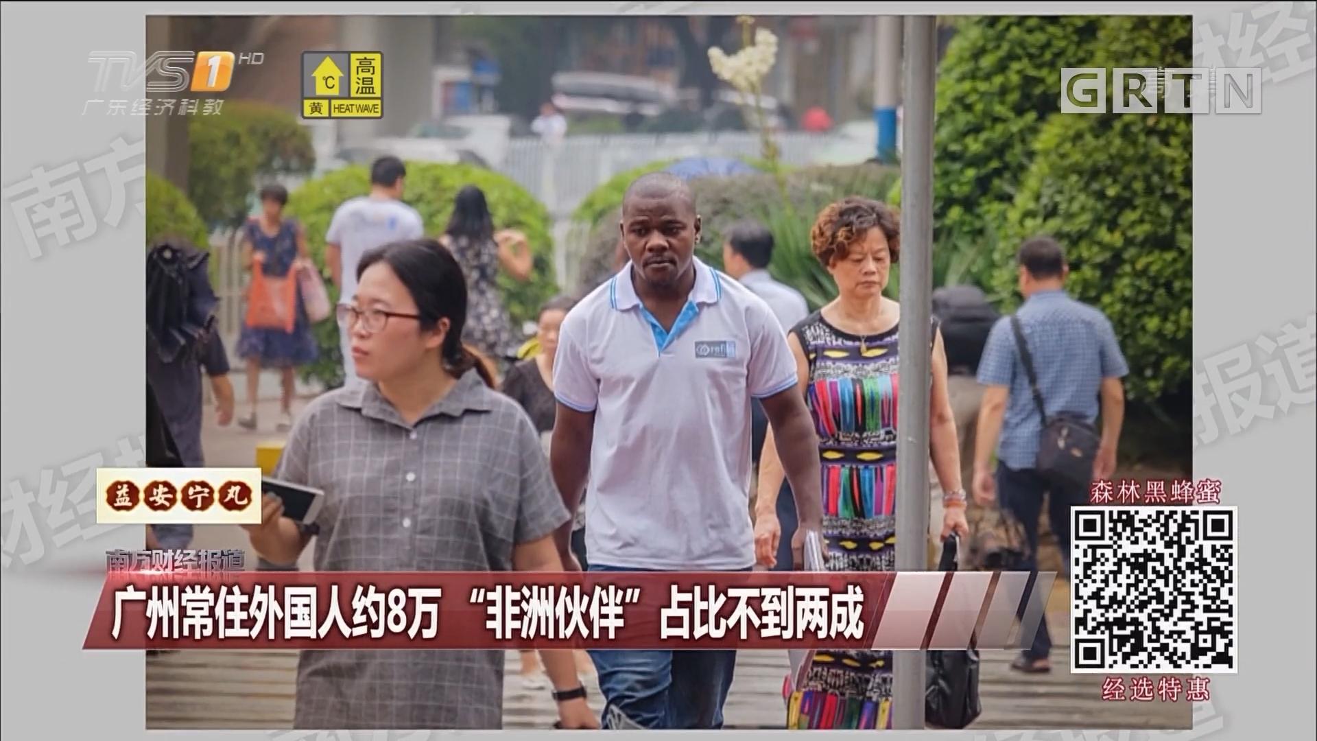 """广州常住外国人约8万""""非洲伙伴""""占比不到两成"""