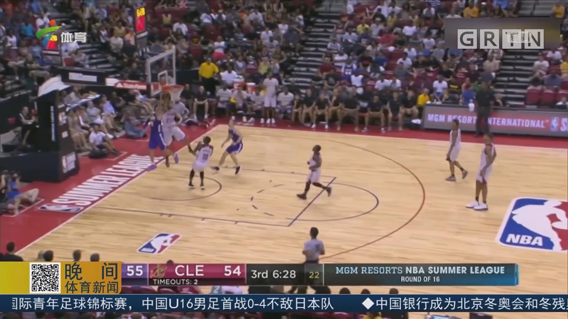 NBA夏季联赛16强 波尔三双全能数助力湖人进军八强