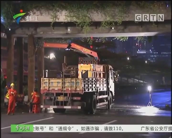 4G连线:多线路临时改道 天桥最快3天修好