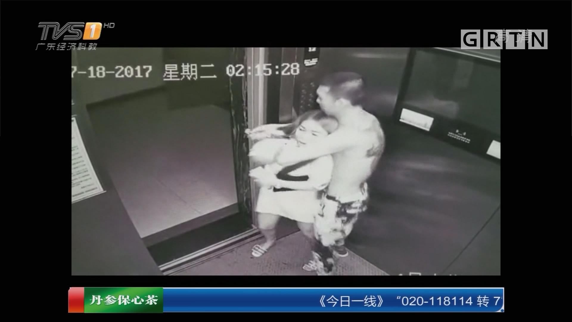 山西:男子深夜电梯中相继挟持两女子