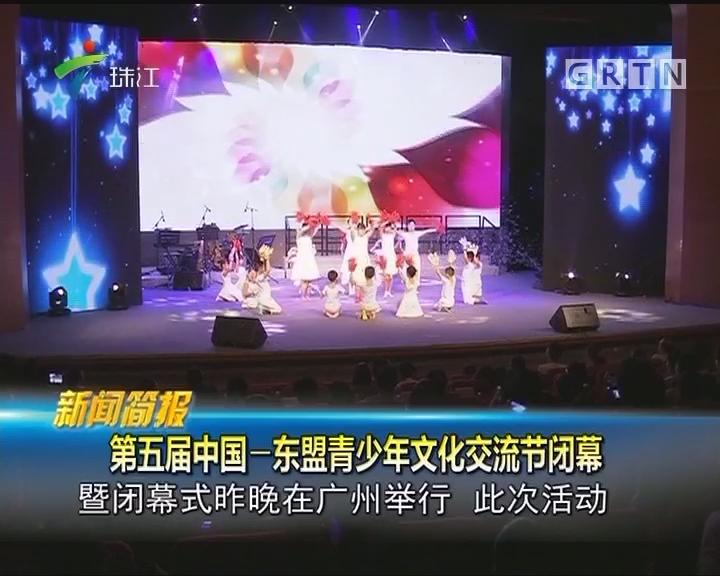 第五届中国—东盟青少年文化交流节闭幕