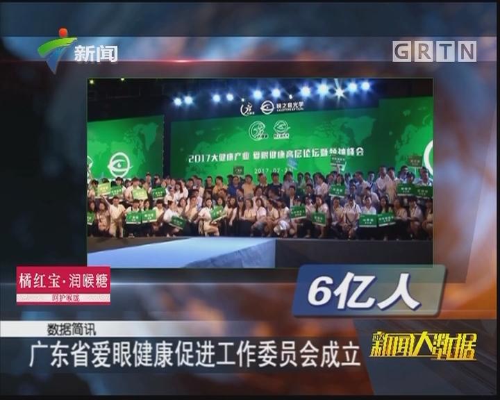 广东省爱眼健康促进工作委员会成立