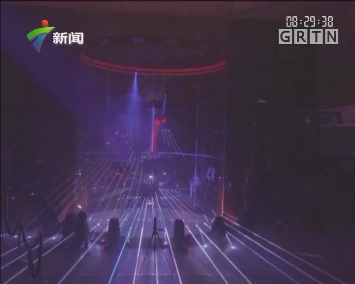世界级风洞跳伞少年选手马德里炫技