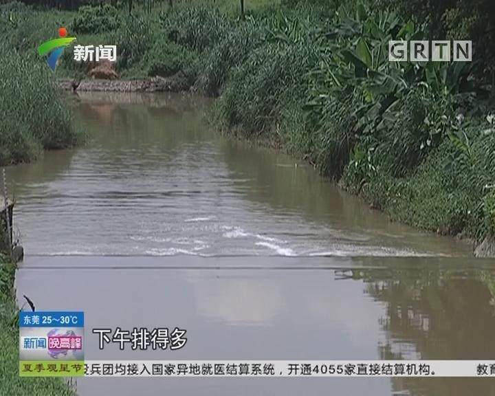 广州:不明黑水暗涌排出 并非偶然?