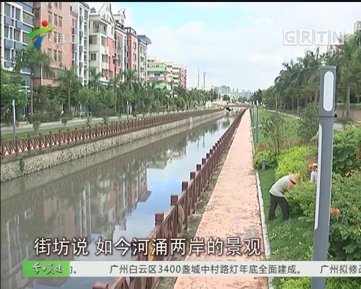 广州:一流景观二流水质 这条河涌待整治