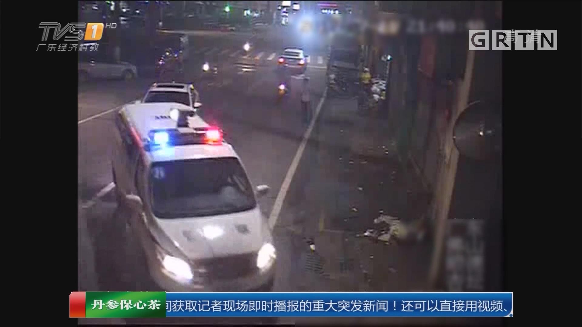 """顺德杏坛:""""醉猫""""驾车追警车 还大闹前台"""