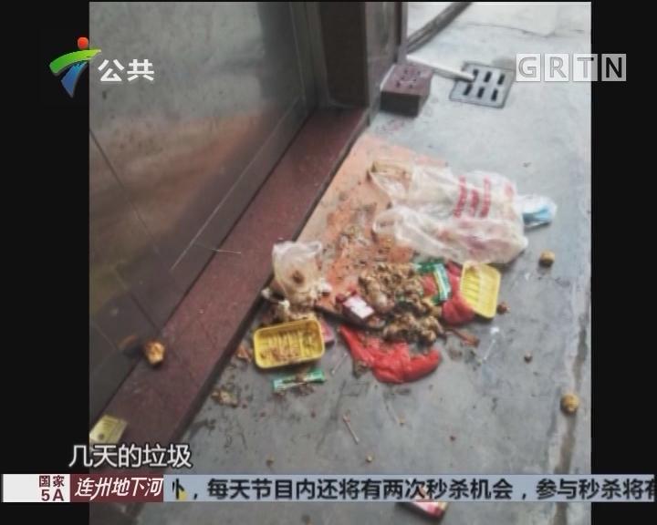 村民求助;家门口频繁遭人扔垃圾