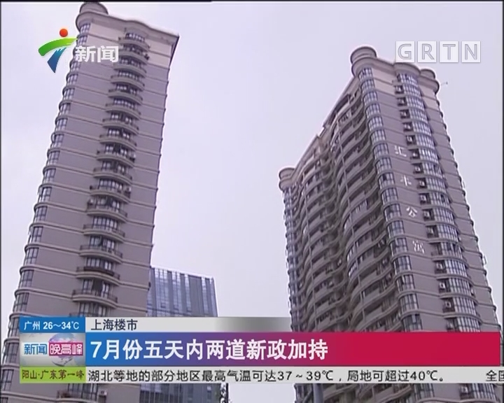 上海楼市:上海6月起 楼市新政加码