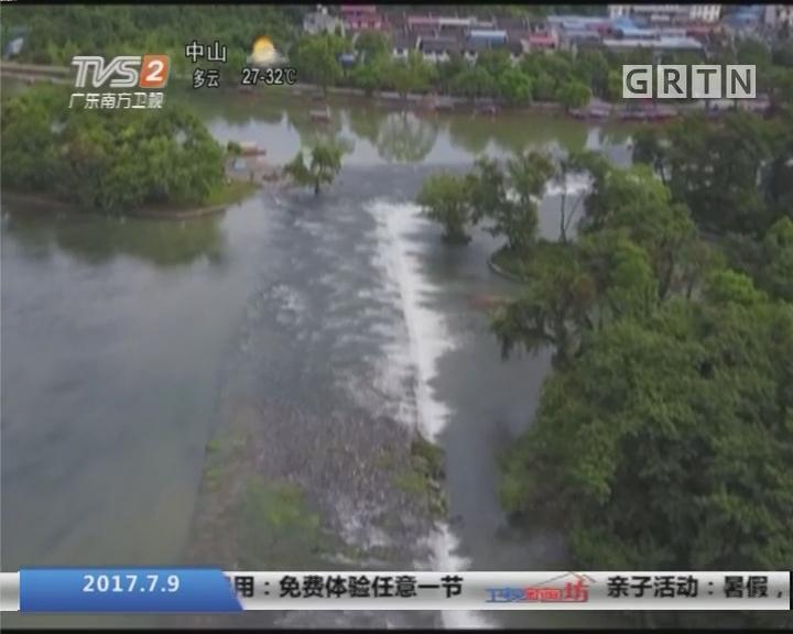 广西:两千多年古运河灵渠 年底将分段复航