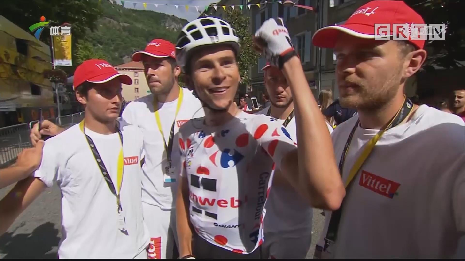 环法第十三赛段 巴尔久利夺冠