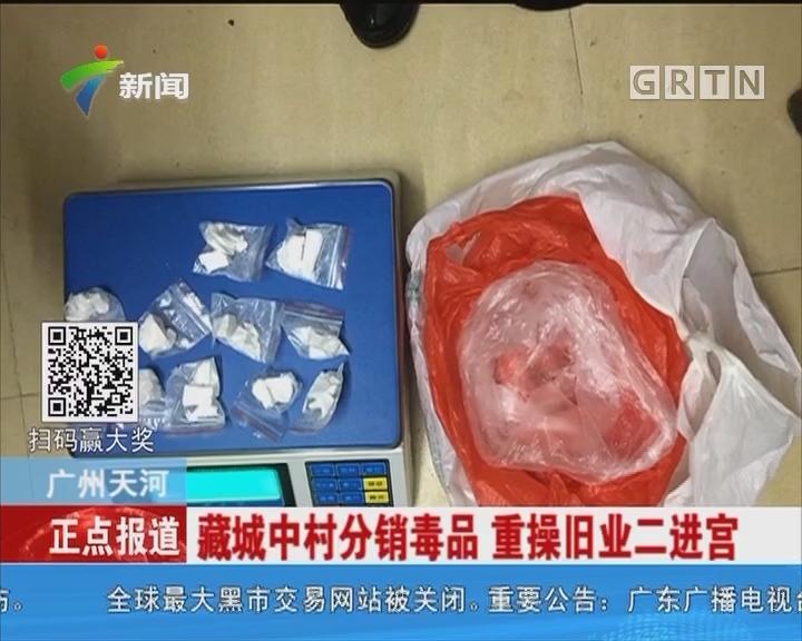 广州天河:涉枪贩毒案告破 层层分销离奇藏毒