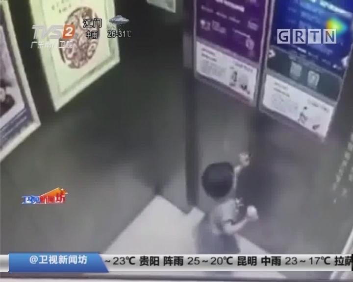 湖南长沙:两岁女童被关电梯升上顶楼 不幸坠楼身亡