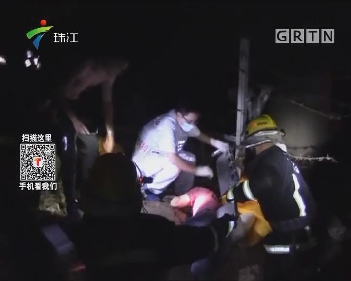 中山:围观车祸 四人不慎跌落高架桥