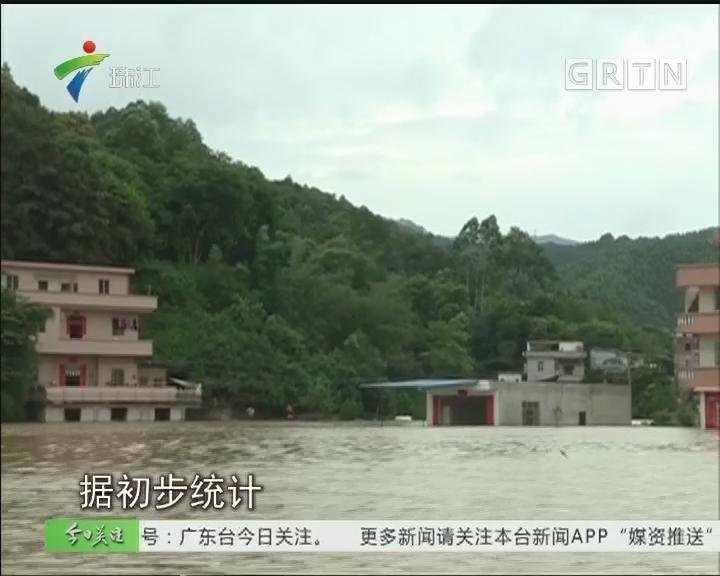 郁南:西江洪水刚退 灾后复产展开