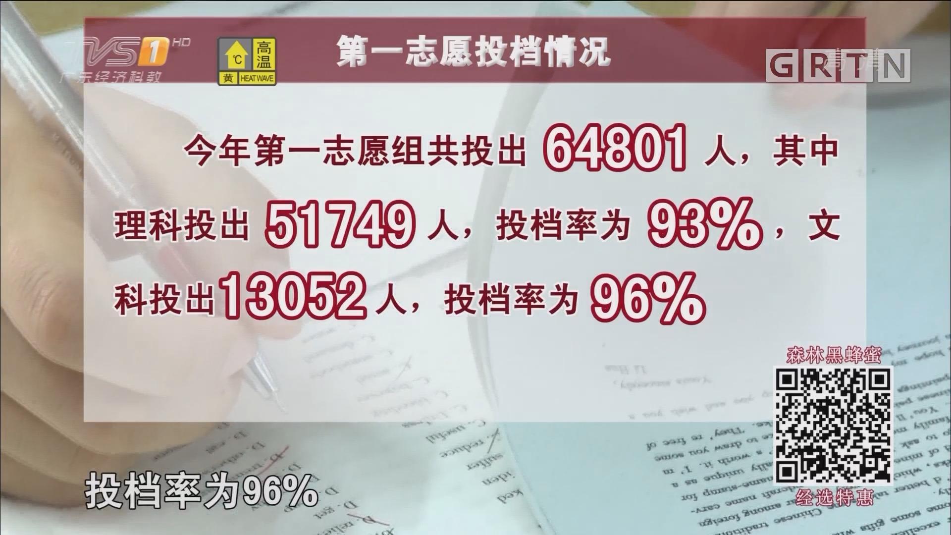 广东高考第一批本科高校投档线公布 昨晚开始录取