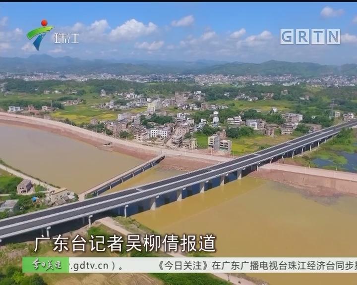 兴华高速预计9月通车 广州至梅州可省半小时