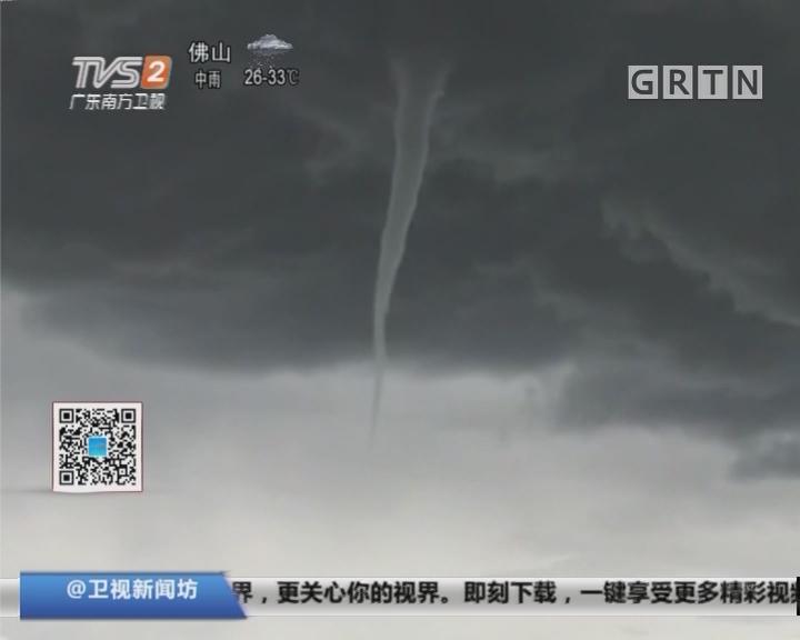 龙卷风:西藏首现陆地龙卷风奇观