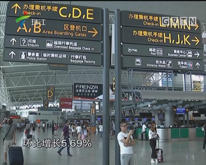 7月航班延误近五成 主要原因是天气