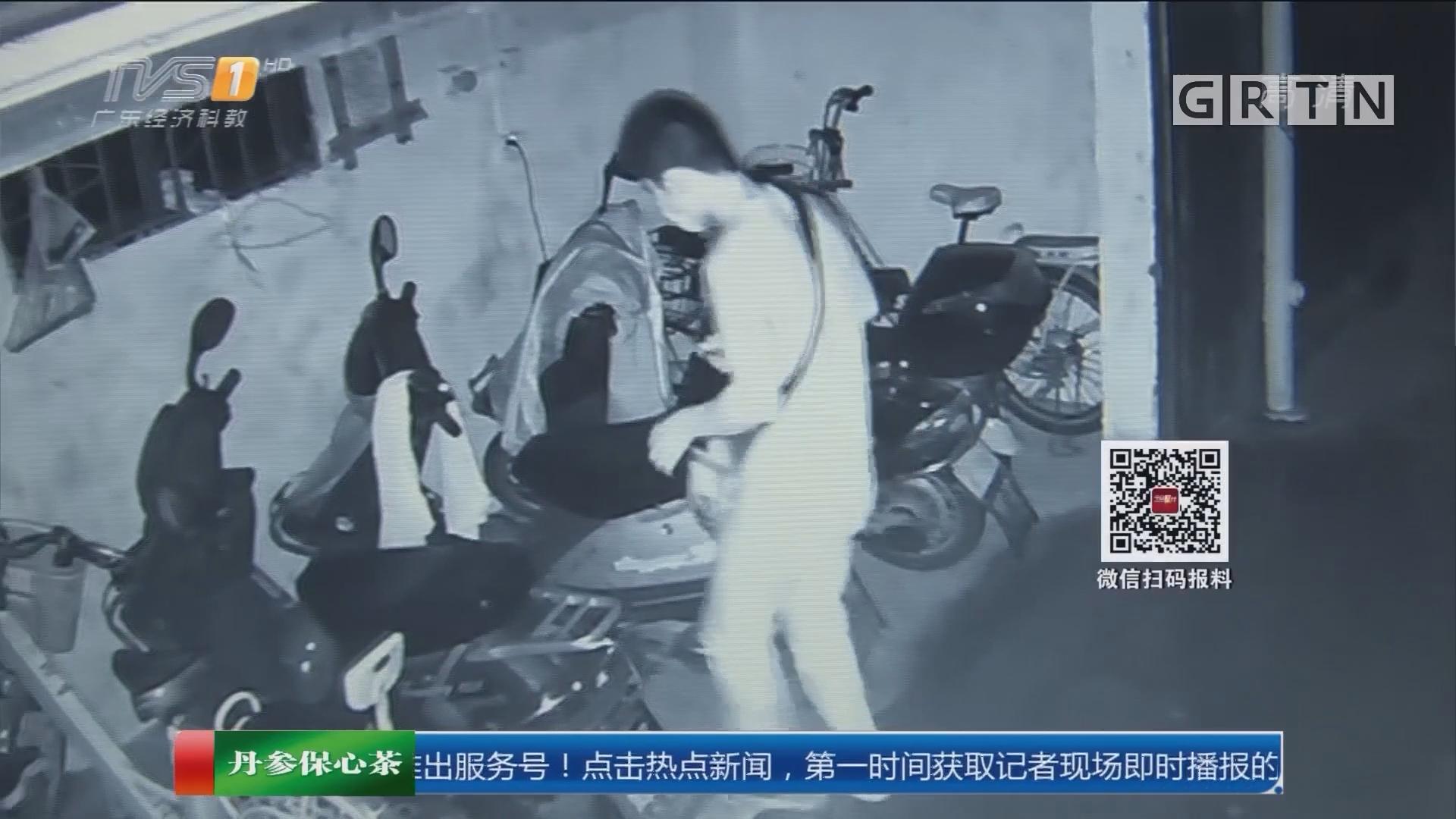 """惠州:""""独行侠""""偷车数十起 暴力抗法被刑拘"""