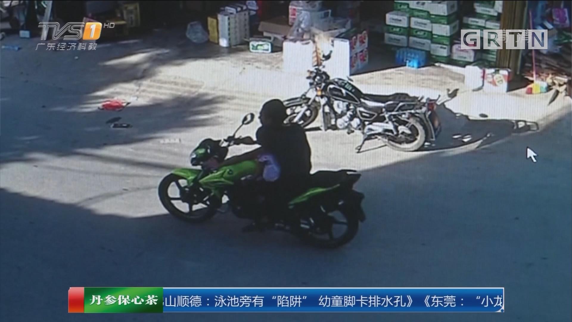 揭阳惠来县:女童遭陌生男抱走 又送回村口?