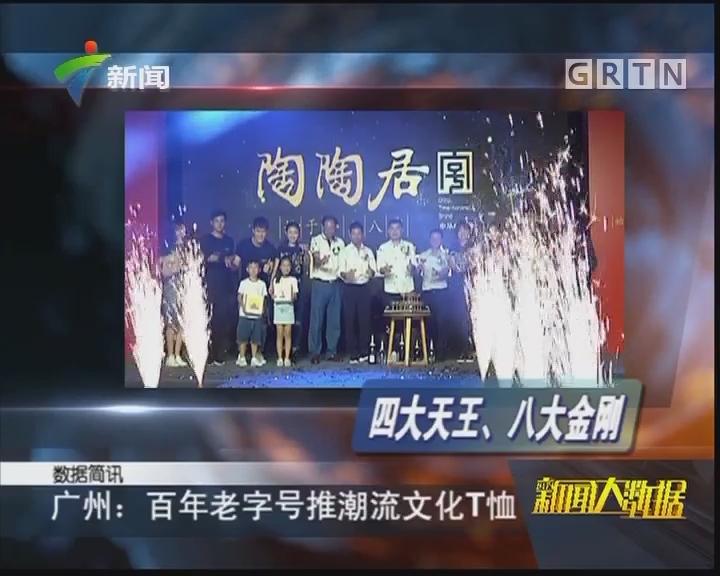 广州:百年老字号推潮流文化T恤