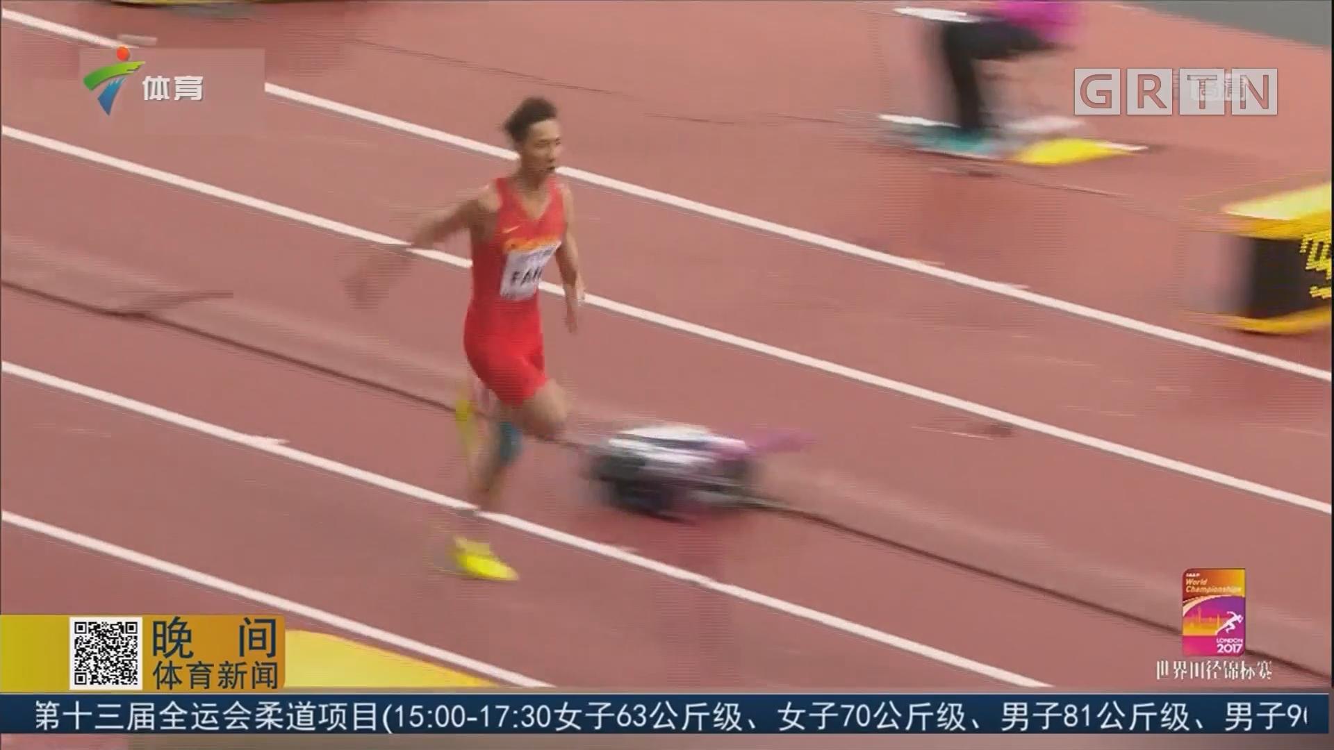 吴瑞庭晋级男子三级跳远决赛