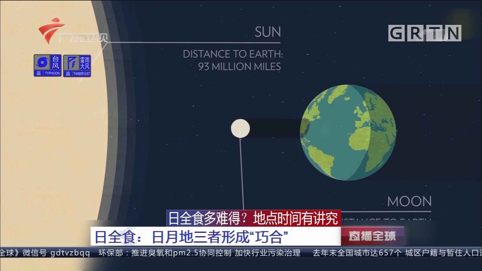 """日全食多难得?地点时间有讲究 日全食:日月地三者形成""""巧合"""""""