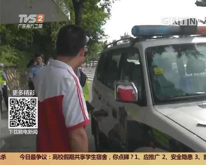珠海:礼让行人 仍有司机没执行