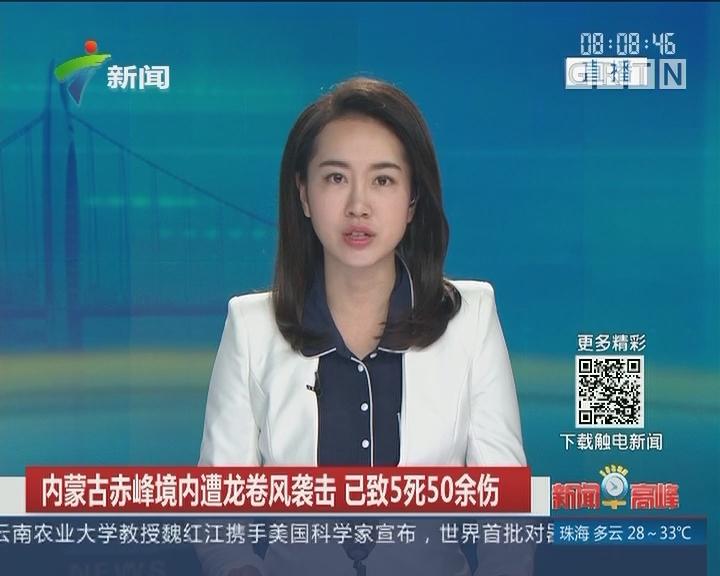 內蒙古赤峰境内遭龙卷风袭击 已致5死50余伤