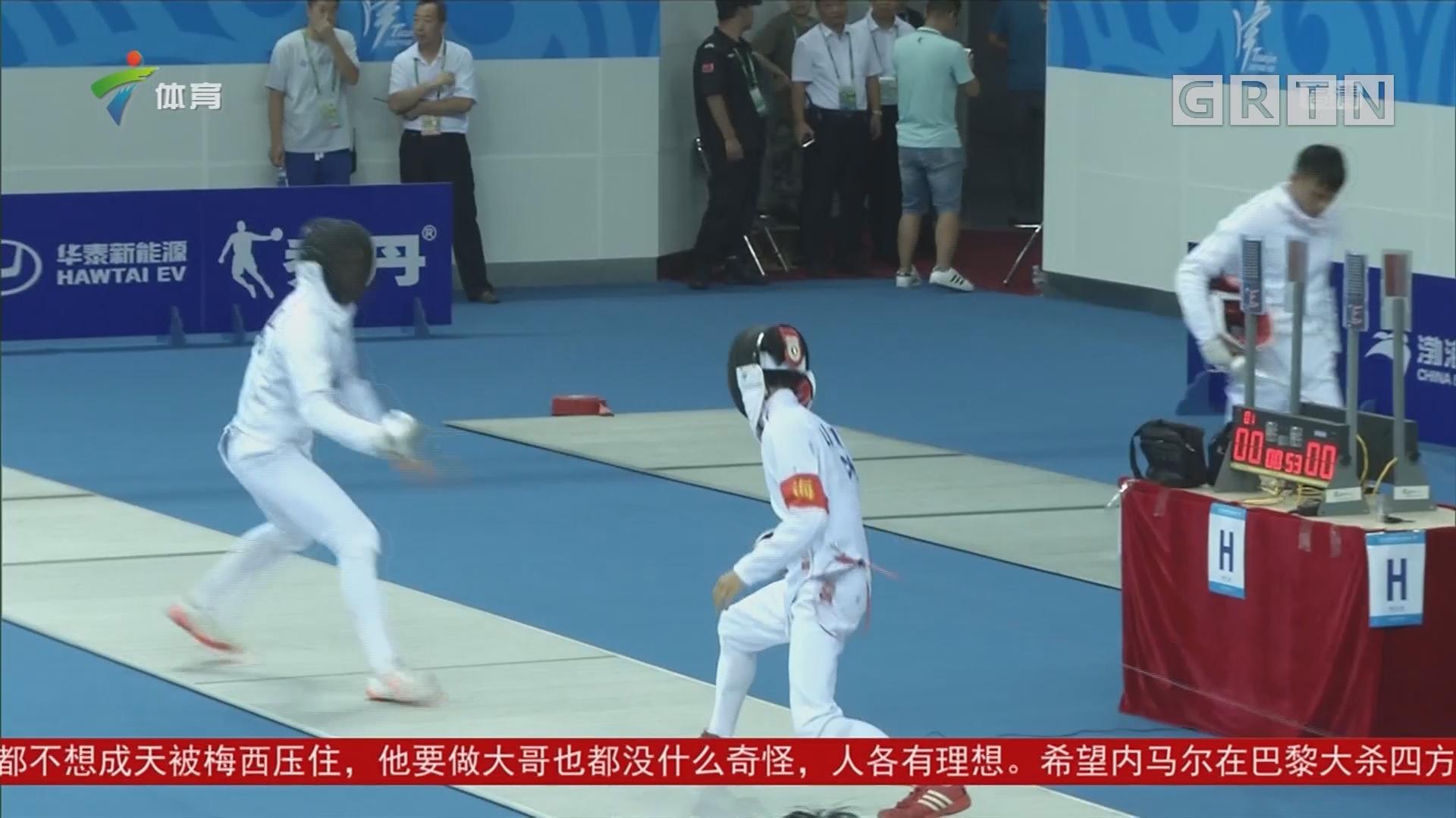 全运会 现代五项个人赛 广东选手苏海航摘铜