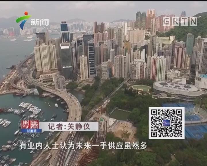 香港潜在一手楼供应创新高