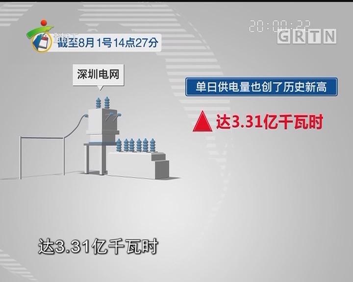 深圳多区域电网负荷创历史新高
