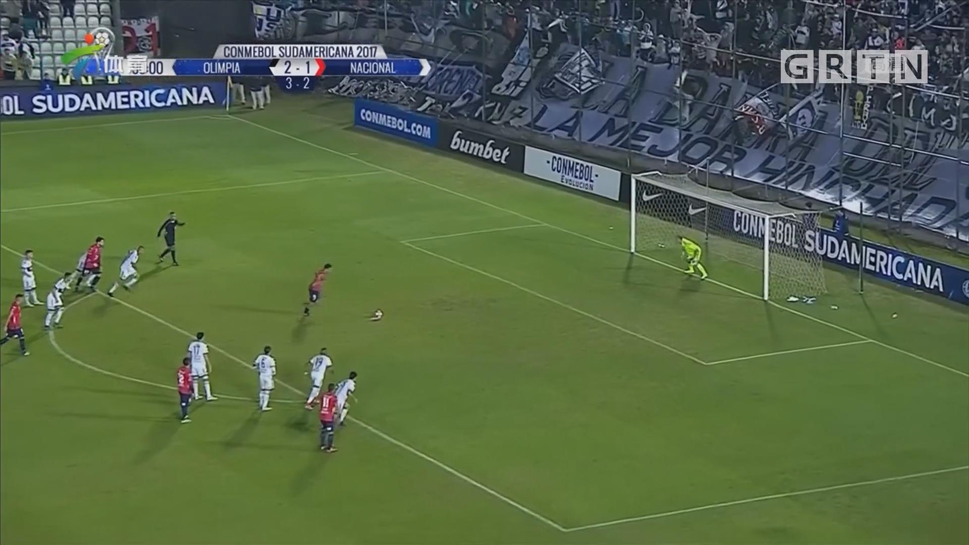 巴拉圭德比 国民惊险取胜晋级