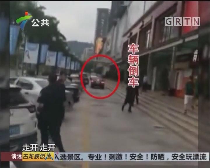 珠海:司机遇查撞车逃窜 已被警方控制