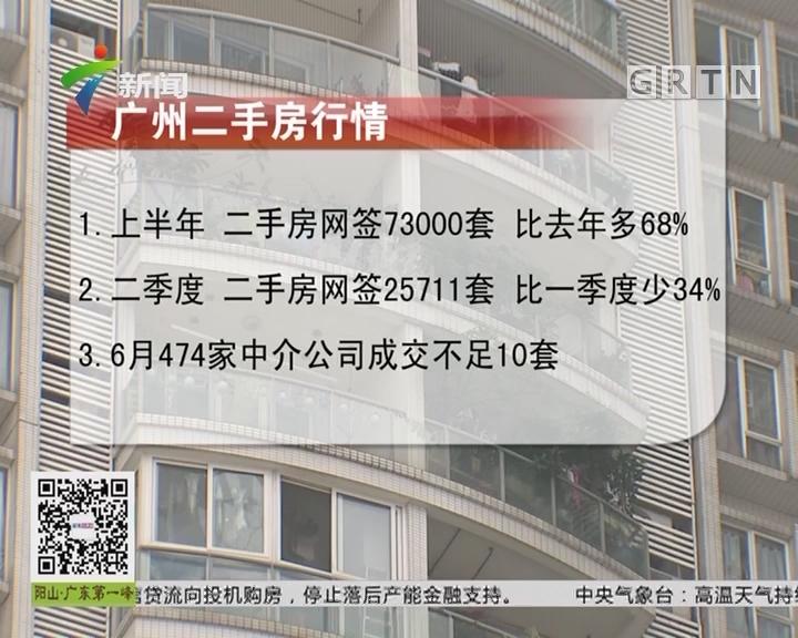 广州楼市:二手房成交量下滑 中介提成锐减