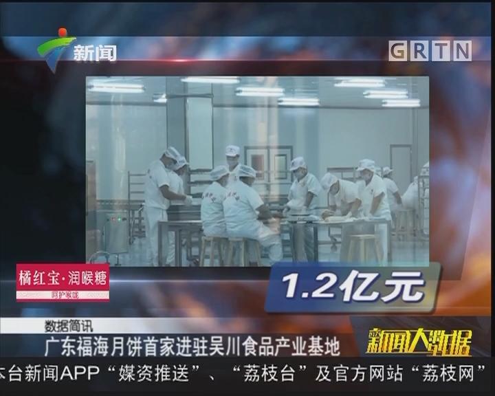 广东福海月饼首家进驻吴川食品产业基地