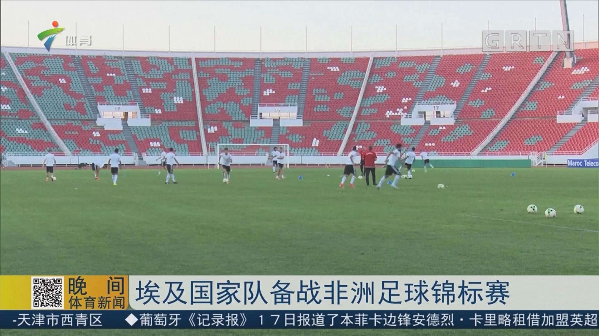 埃及国家队备战非洲足球锦标赛