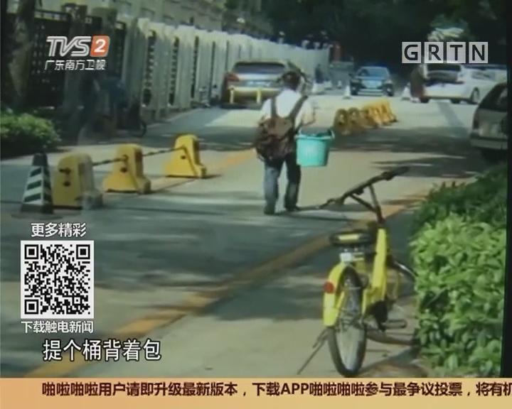 """深圳:提桶男频繁""""晕倒"""" 救护车出动扑空"""
