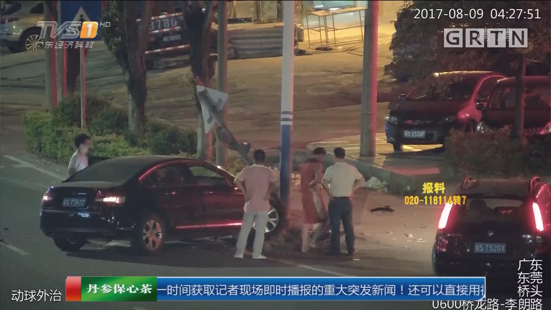 东莞:哥哥醉驾找弟弟顶包 被民警揭穿
