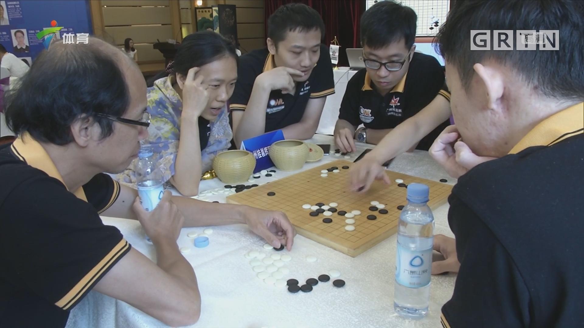城市围棋联赛 竞技娱乐两不误